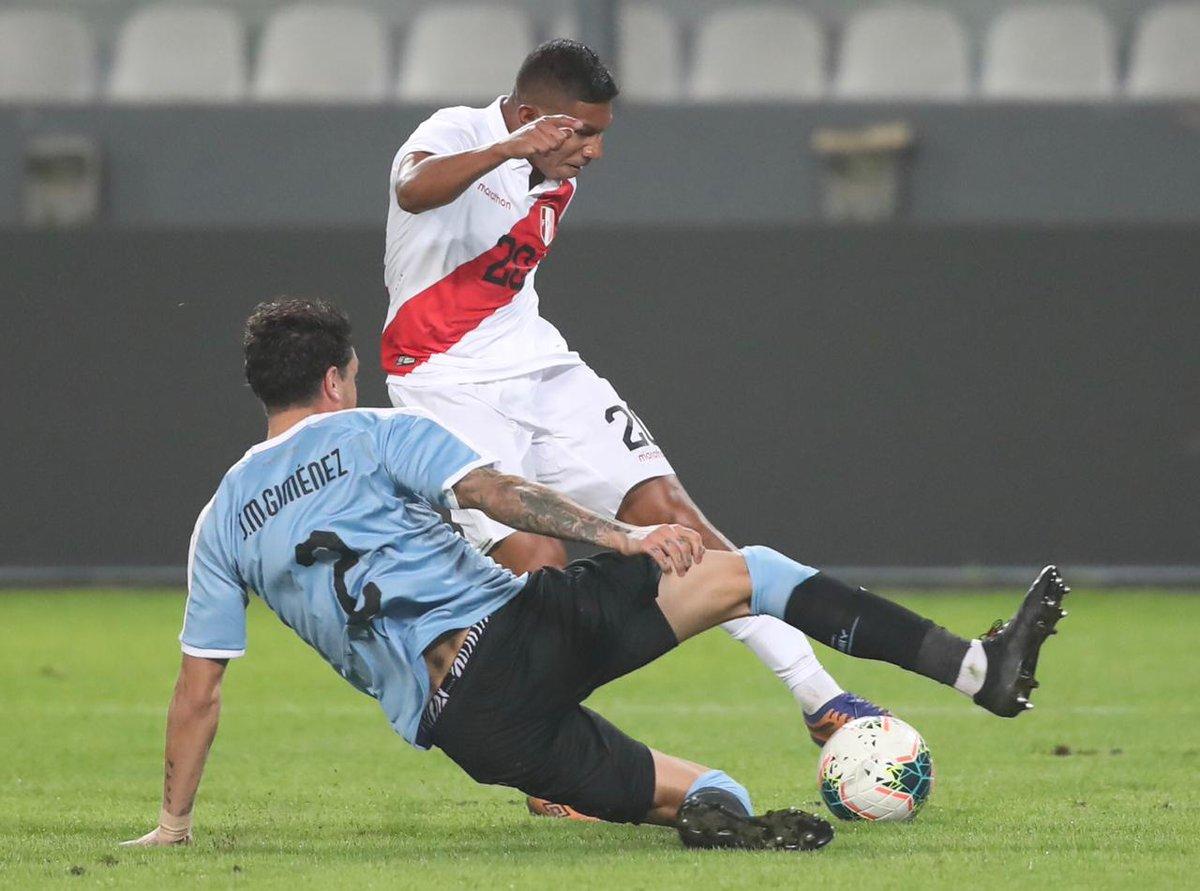 Перу и Урувай сыграли вничью