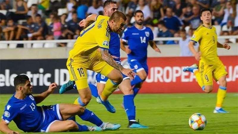 Кипр в волевом стиле обыграл Казахстан