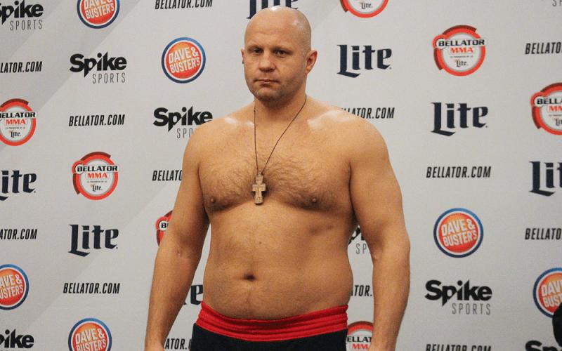 Федор Емельяненко, российский боец ММА