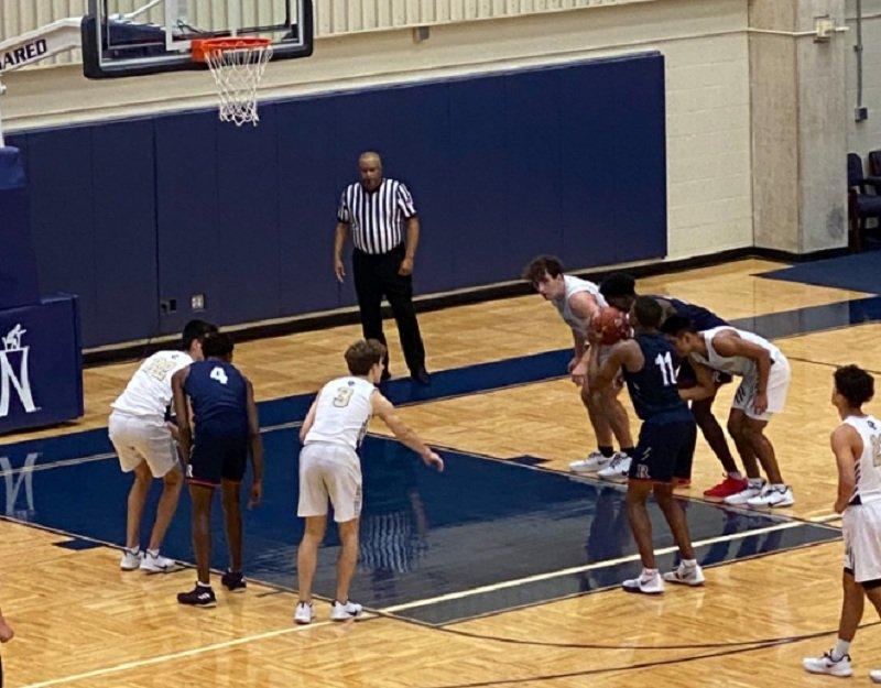 Баскетбол в школе в США