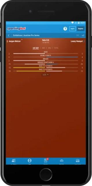 Приложение Sportingbet для Андроид live ставки