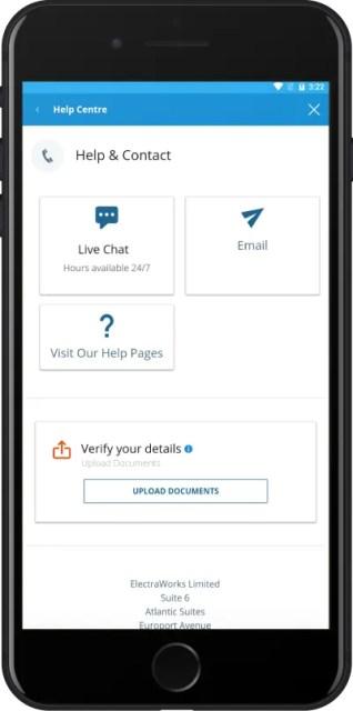 Приложение Sportingbet для Андроид чат