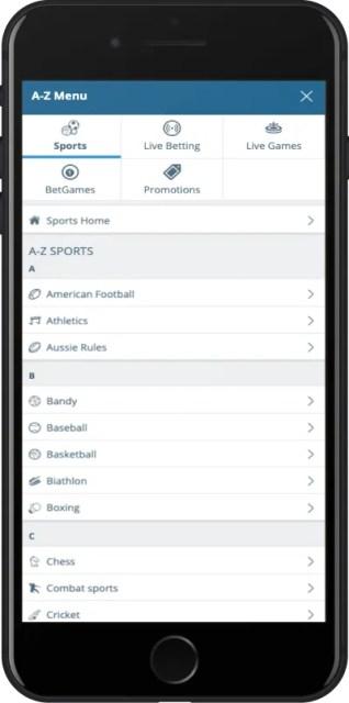 Приложение Sportingbet для Андроид ставки