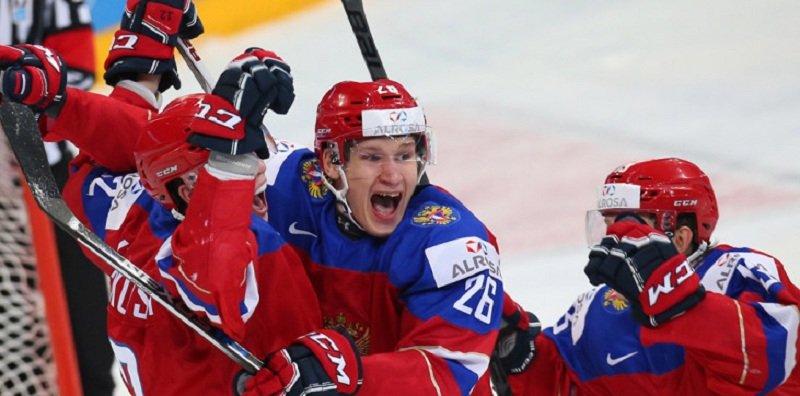 Молодежная сборная России по хоккею