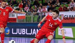 Сборная России забила шесть безответных мячей Армении в матче квалификации ЧЕ-2022 по мини-футболу