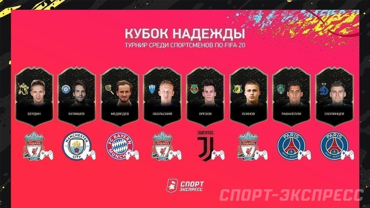 Дмитрий Скопинцев и Николай Обольский сыграют в финале Кубка Надежды