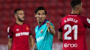 """Барселона"" разгромила ""Мальорку"", на счету Месси гол и два ассиста"