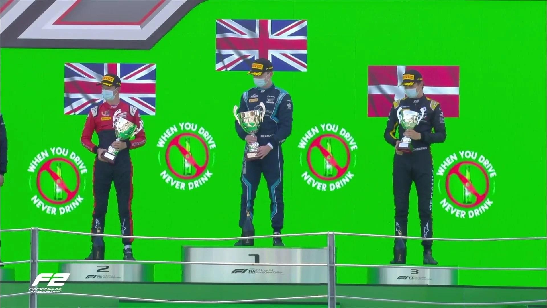 Тиктум — победитель второй гонки Формулы-2 в Италии