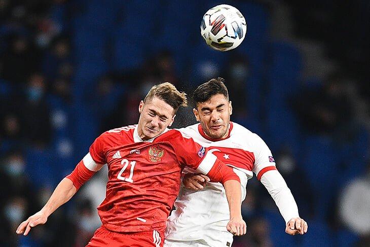 Сборная России сыграла вничью благодаря голу Антона Миранчука