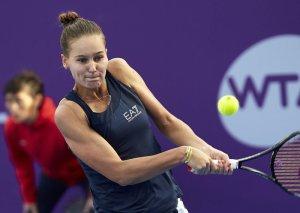 Кудерметова выиграла первый титул в карьере, став победительницей турнира в Чарльтоне