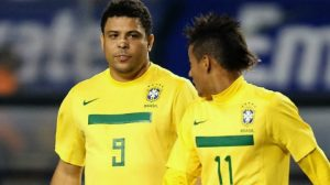 Неймар обогнал Роналдо по голам за сборную, впереди него только Пеле