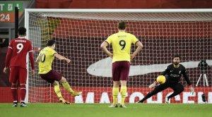 «Ливерпуль» сенсационно проиграл «Бернли» в АПЛ