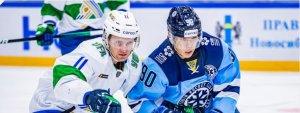 «Салават Юлаев» одержал волевую победу в матче с «Сибирью»