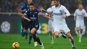 Клиент «Фонбет» поставил ₽560 тыс. на гол «Интера» в матче с «Аталантой»