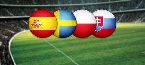 Евро-2020: коэффициенты букмекеров на фаворитов группы E и ставки на выход в плэй-офф