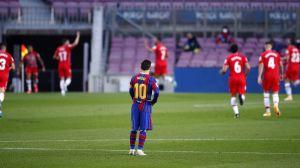 «Барселона» дома уступила «Сельте» и потеряла все шансы на чемпионство