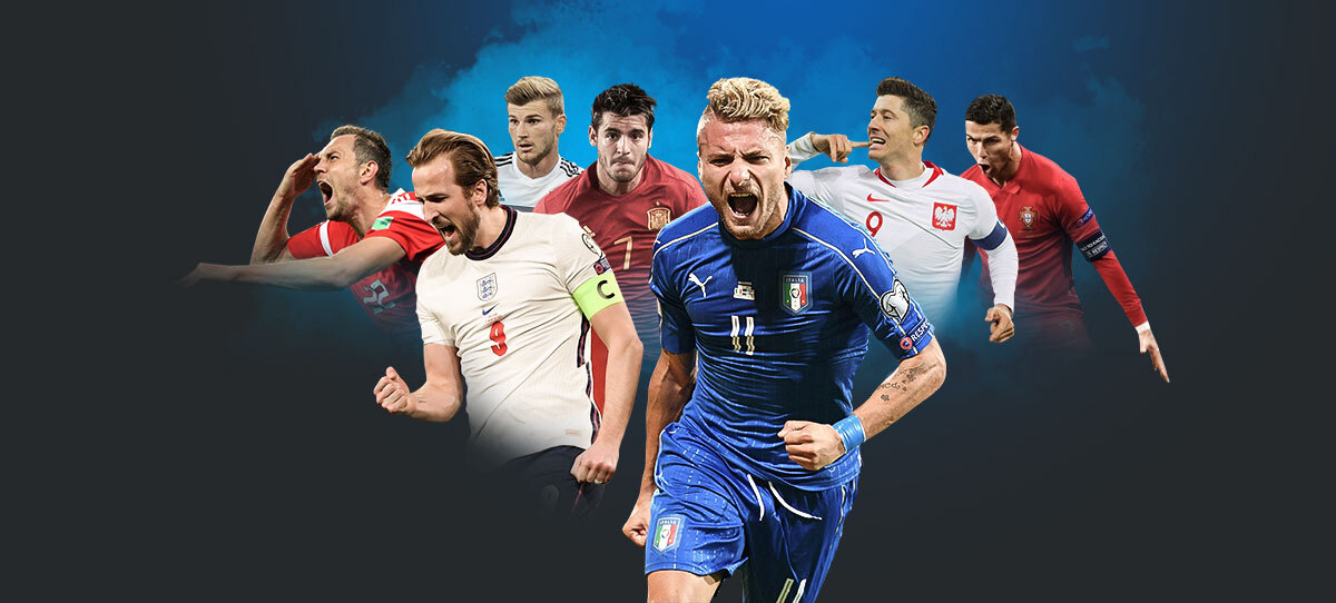 Евро-2021 (2020): прогнозы, ставки и коэффициенты букмекеров на чемпионат Европы по футболу