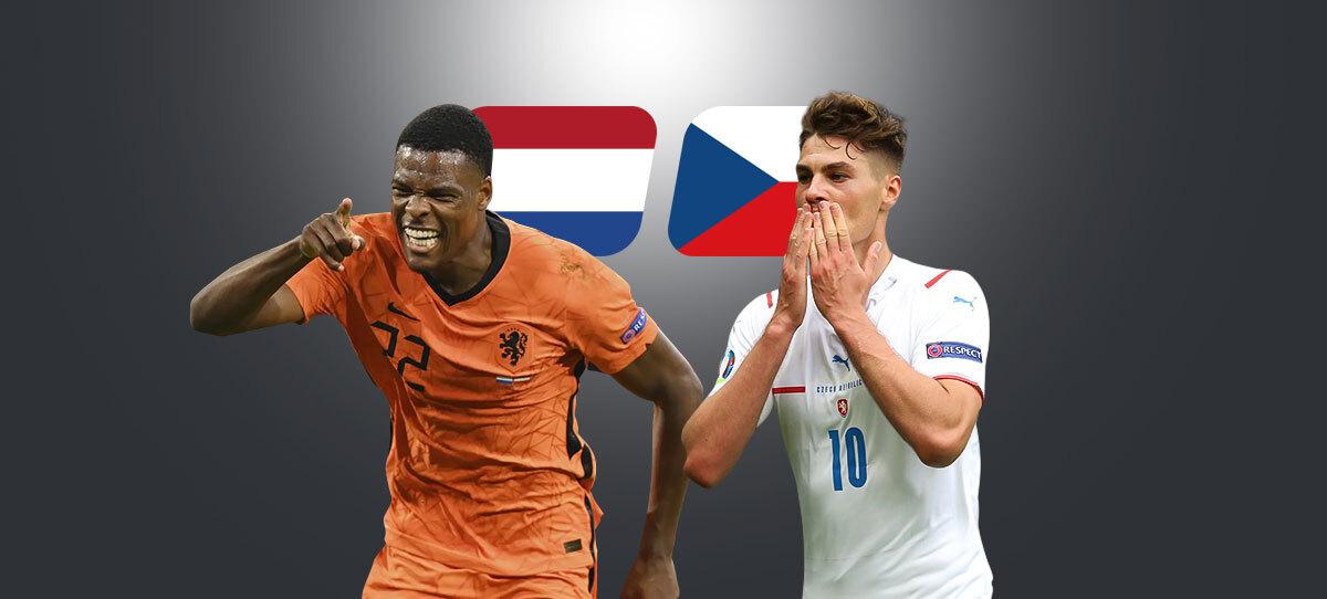 Нидерланды — Чехия: прогнозы, ставки и коэффициенты букмекеров. У Голландии выбыл форвард, у чехов – защитник