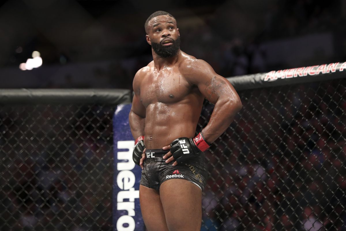 """Dana White responds to Jake Paul boxing match: """"Tyron Woodley doesn't look like the Tyron Woodley of the past"""""""