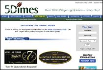5Dimes Live Dealer