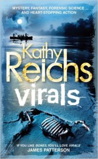 Virals by Kathy Reichs - Hardback Cover