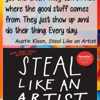 Austin Kleon: On Creative Work