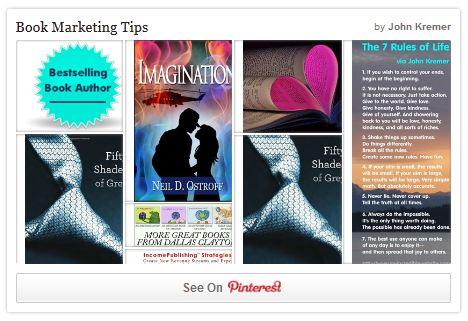 Book Marketign Tips on Pinterest