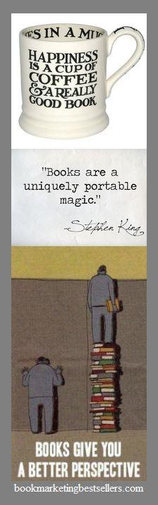 Books are portable magic - Stephen King