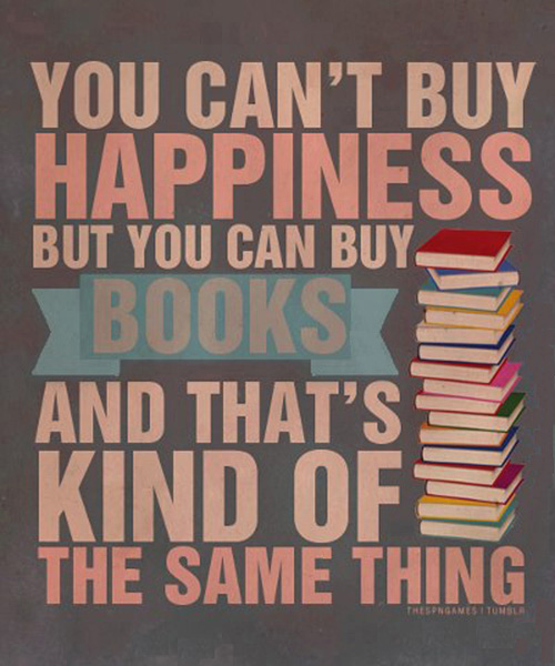Buy Books. Be Happy