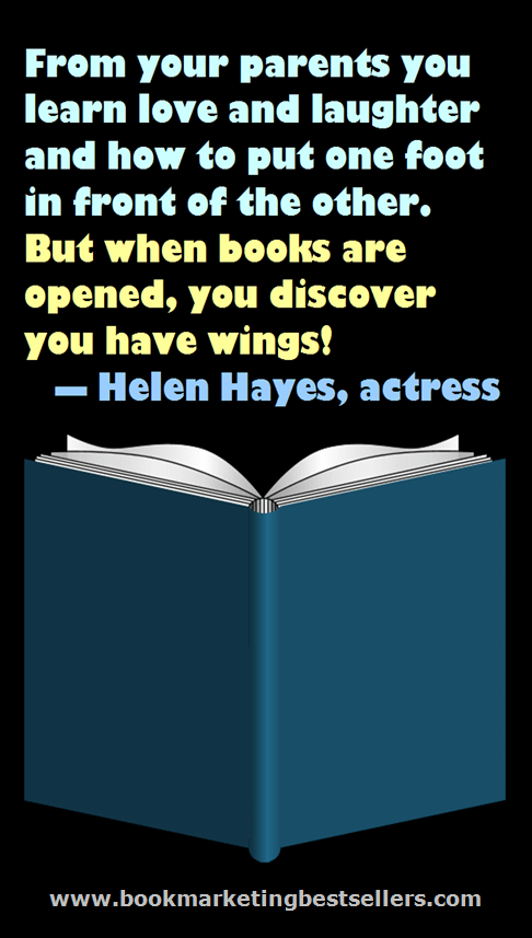 Books Have Wings - Helen Hayes
