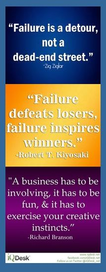 Business Bookmark: Failure Inspires Winners