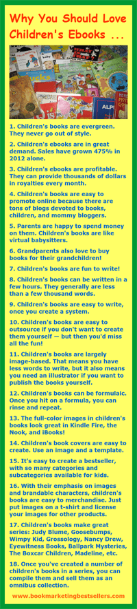 Children's Ebooks Infographic