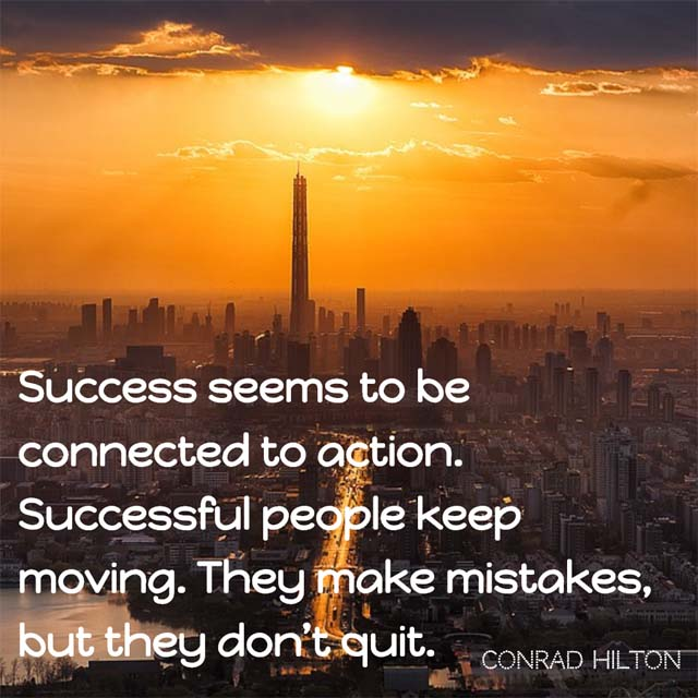 Conrad Hilton on Success