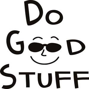 Do Good Stuff t-shirt design by Joel Comm