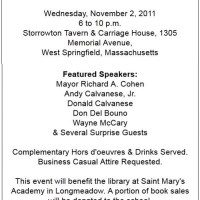 Sample Invitation to a Book Release Party