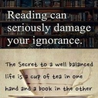 I Love Reading Books! Don't Be Ignorant!