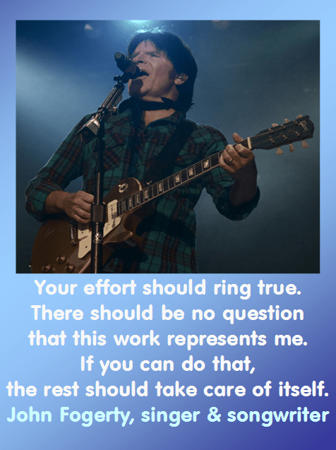 John Fogerty on Your Work