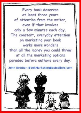 A key book promotion tip from John Kremer