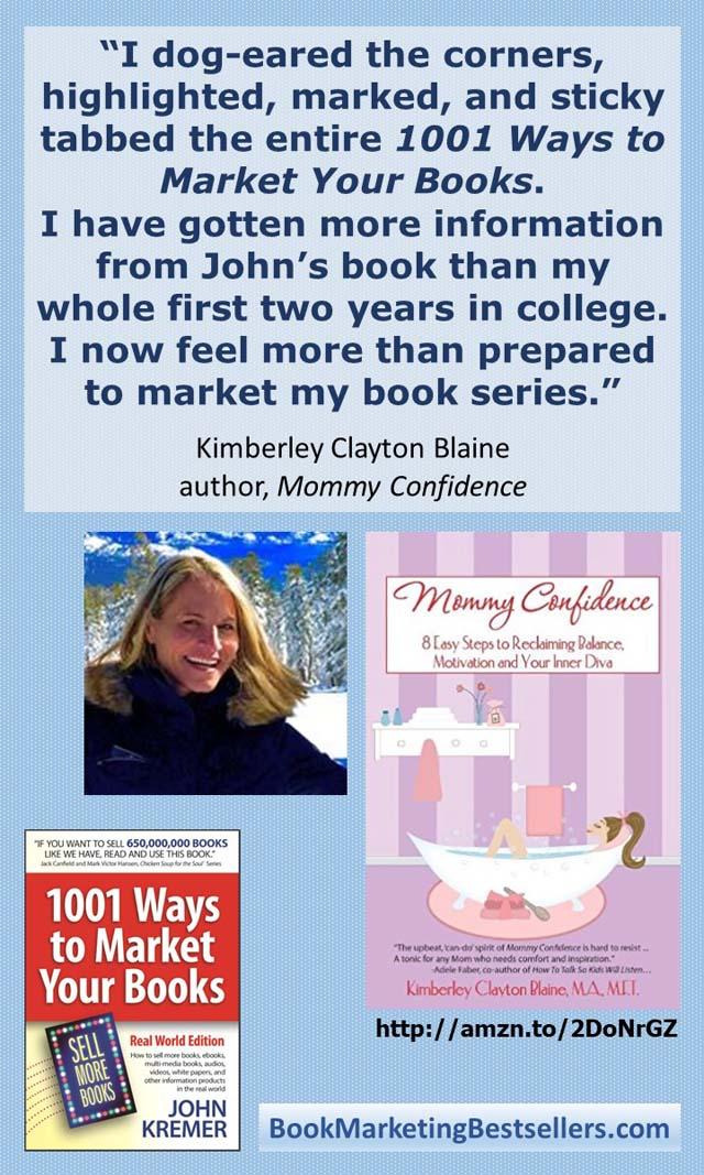 Kimberley Clayton Blaine, author of Mommy Confidence