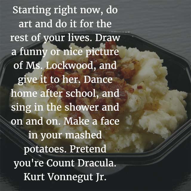 Kurt Vonnegut Jr. on Art
