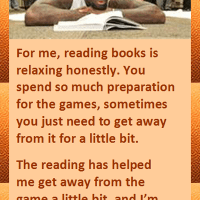 Lebron James on Reading Books