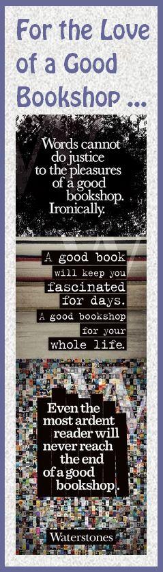 Book Bookmark: Love of a Good Bookshop