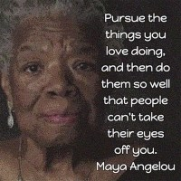 Maya Angelou: Book Marketing Advice