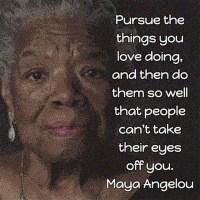 Maya Angelou: Book Marketing Advice