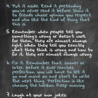 Neil Gaiman: 8 Rules of Writing