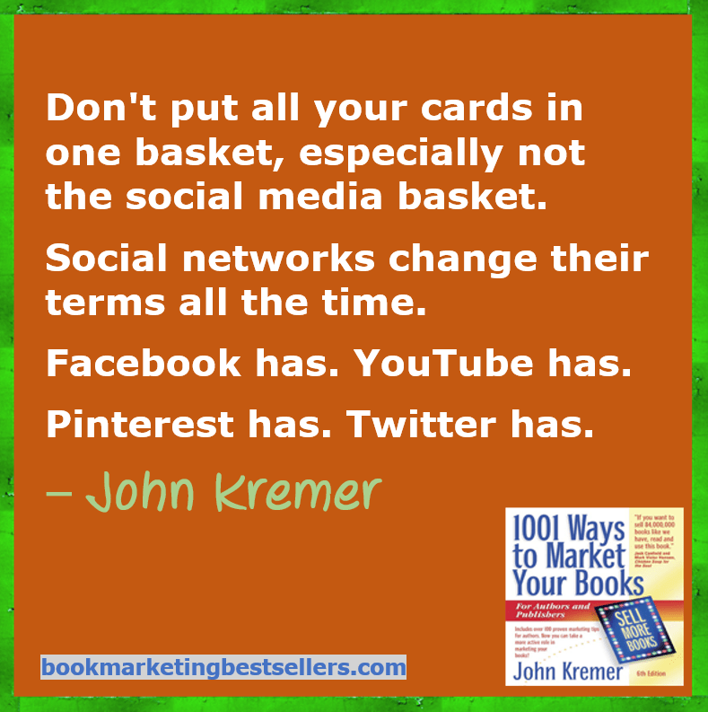 Don't put all your cards in one social media basket
