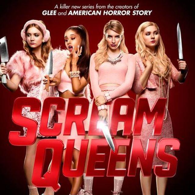 Scream Queen characters read books!