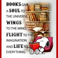 Books Give a Soul to the Universe