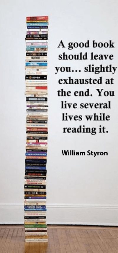 A great book by William Styron