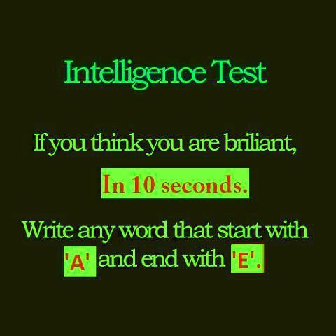 The True Intelligence Test as a Meme